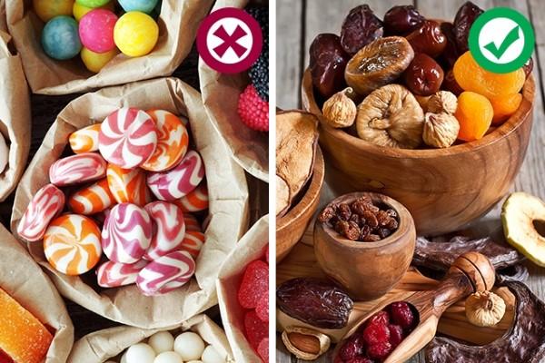 Замена вредным сладостям