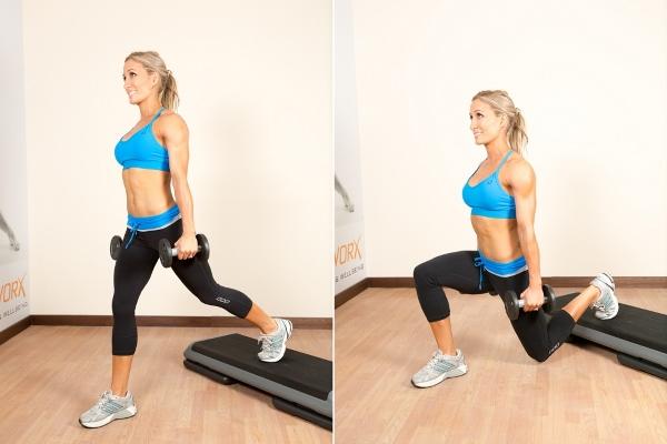 Упражнения с нагрузкой
