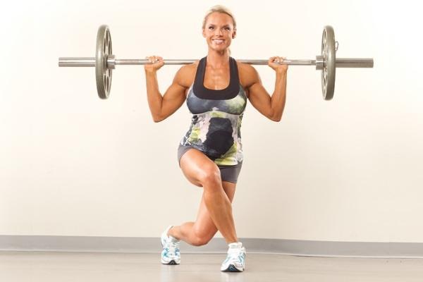 Силовые упражнения со штангой