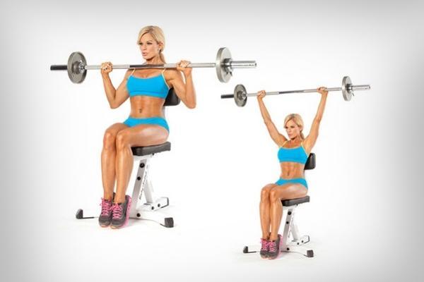 Силовые упражнения со штангой для укрепления грудных и спинных мышц