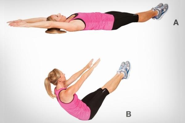 Упражнения для укрепления мышц живота
