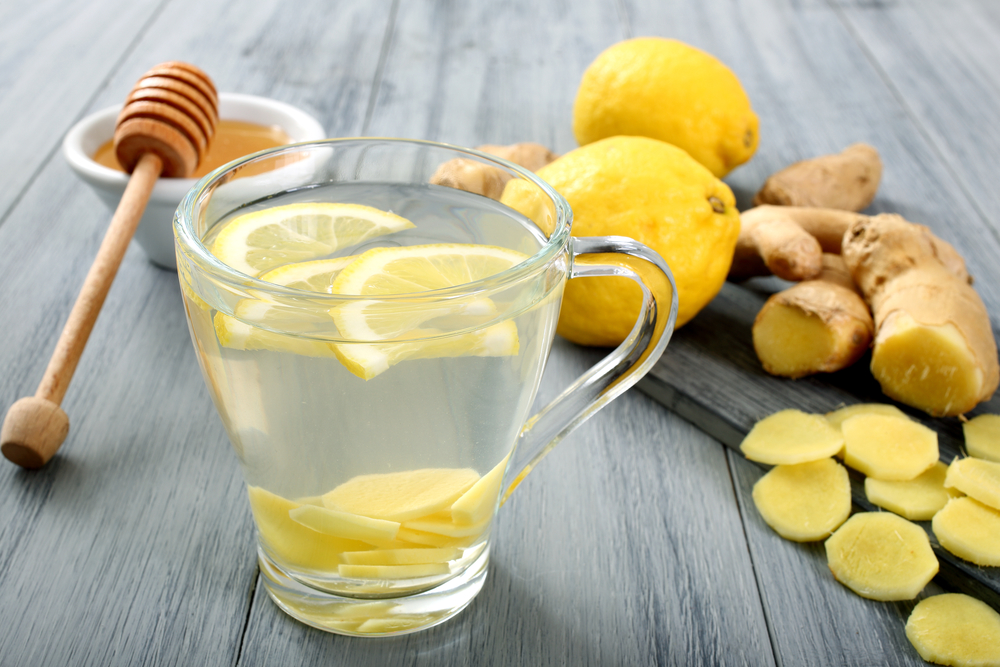 Коктейль для похудения имбирь лимон мед