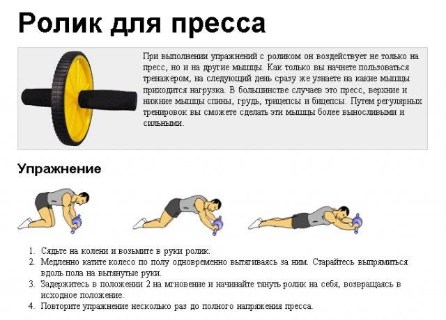 Упражнения с колесом для пресса доступны и новичку ccd6e261371