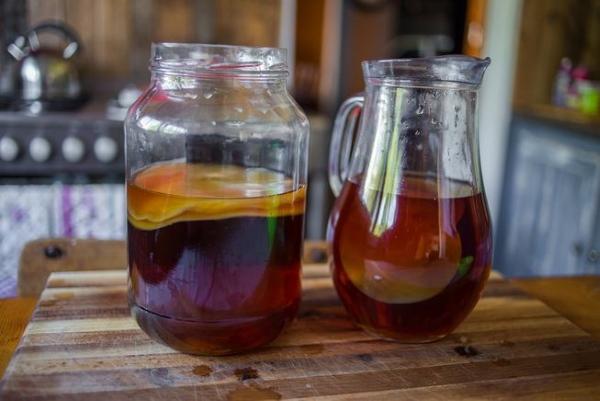 Пить чайный гриб для похудения