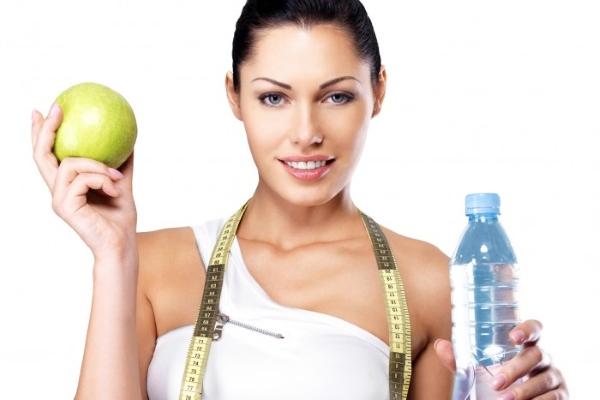Диета на воде и яблоках