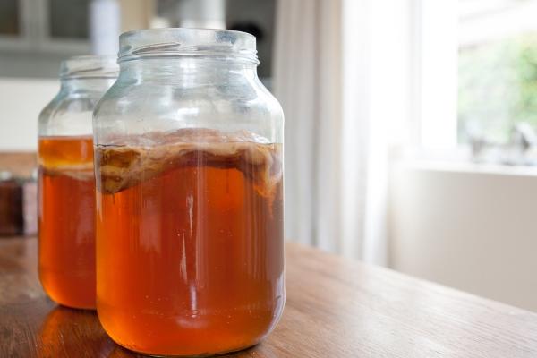 Квас из чайного гриба