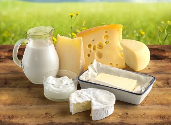 Желтый сыр и молочная продукция
