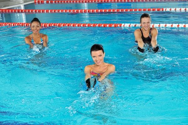 Упражнения для бассейна